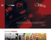 Screen Institute Beirut website Design and development