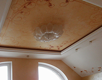 Bedroom ceiling design.