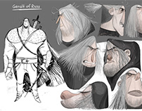"""The witcher"" visual development/character design"