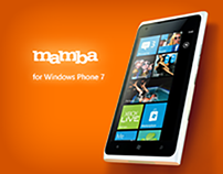Mamba App for Windows Phone 7