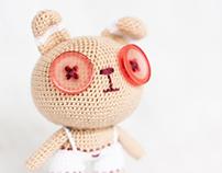 Amigurumi small Bunny