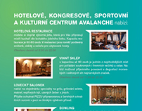 Brochure Hotel AVALANCHE