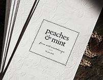 peaches & mint