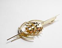 Gouden Juweeltje Atelier Merique Antwerpen