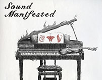 """Sound Manifested"" Editorial Design"
