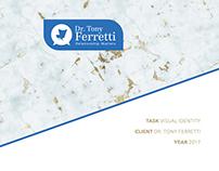 Dr. Tony Ferretti Visual Identity