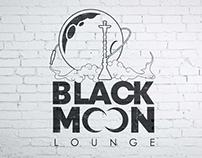 Logotype: BLACK MOON Lounge cafe