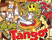 My Artwork for Tango Wafer Competition