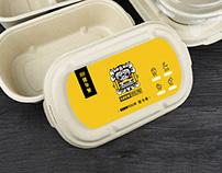 包装设计-外卖-show show 健身餐 轻食包装设计