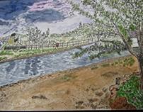 Sítio das Fontes - Estômbar - Sketch