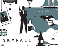 Skyfall Print