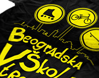 T-shirt - Belgrade School of Extreme Sports