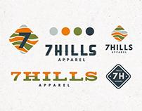 7 Hills Logo Mock Ups