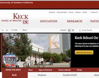 Keck School of Medicine of USC Website