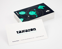 tajfazon – business cards
