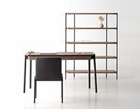 Bookcase from the Friendly collection for Zegen