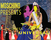 Moschino x Universal Brand Collaboration Project