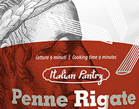 CWWWR Entry / 'Italian Pantry' Penne Rigate Pasta