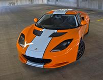 2012 Lotus Evora Gulf Edition