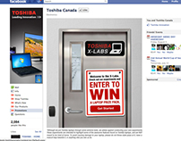 Toshiba - X-Labs - Social Media