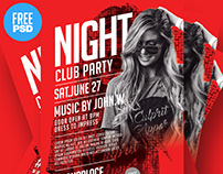 Free Flyer Design - Adobe Photoshop