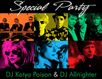 NEW WAVE Special Party Posters