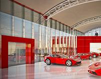 Ferrari Dealership Showroom
