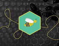 Pszczoły // app / print