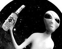 Nemiroff and Jim Beam Space ads :)