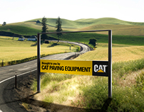 Caterpillar road construction campaign