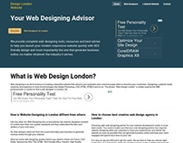 Web design basics for working professional of London