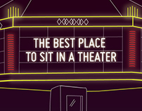 The best place to sit in a theater (infographic)