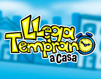 Llega Temprano a Casa - Video Game Art