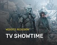 TV Show Planner Website