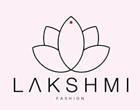 L A K S H M I created a logo for fashionable youth clo