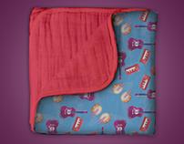 Vector Illustrations: T-shirts, Blankets, etc