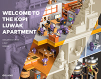 Kopi Luwak Apartment