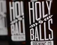 Holy Balls Brewing Co | Packaging