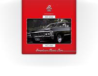 American Classic Cars webdesign 2008