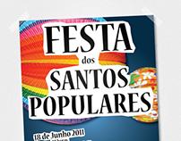 Festa dos Santos Populares - Poster design