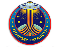 Odyssey Extracts Logo / Mission Patch