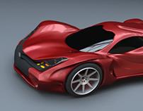 Redstone concept car