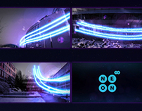 Final thesis - visual id of Neon TV 2011