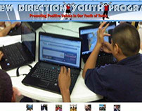 New Direction Youth Program Website & Business Card