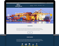 Website of Trans Caspian Logistics