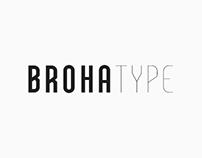 Broha Typeface