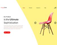 E-Comerce Landing Page