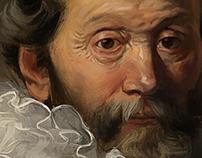 Johannes Wtenbogaert by Rembrandt