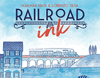 Rail Road Ink - Deep Blue Edition