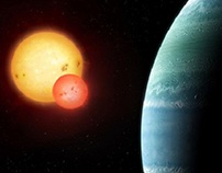 New Planet Orbiting Two Stars Discovered
